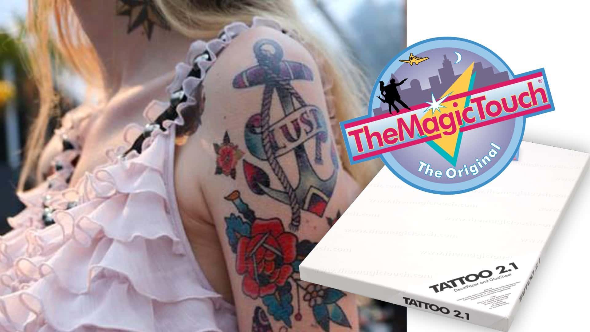 Tatuaż Usuwalny Aplikacje Wwwtermo Transfercompl